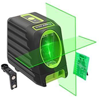 Huepar 360 Laser Level Green Switchable Cross Line Self Leveling With Pulse Mode 1x 360 Degree Horizontal Line 130 Degree Vertical Lar En 2020 Herramientas Bricolaje