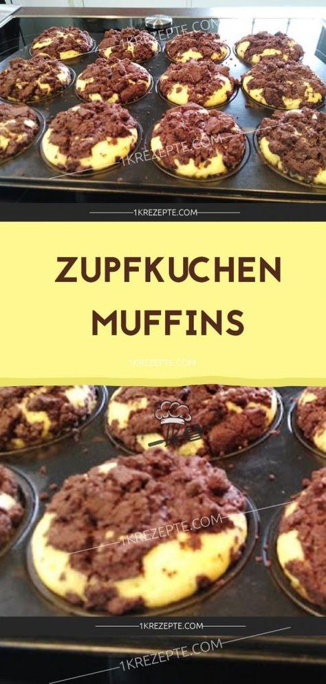 Zupfkuchen Muffins - 1k Rezepte