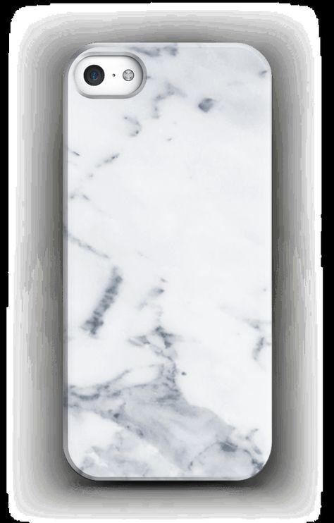 Vit marmor skal för en iphone eller samsung  a899af92e261c