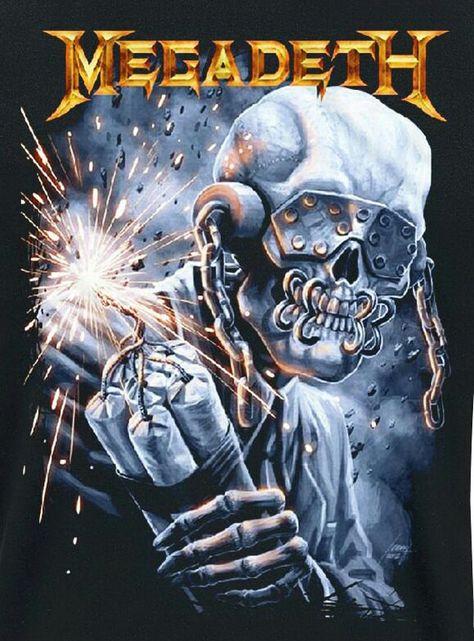 ☯☮ॐ American Hippie Heavy Metal Rock Music Megadeath