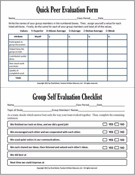 I found this great rubric on a blog called Phys Ed Review Great - student self evaluation form