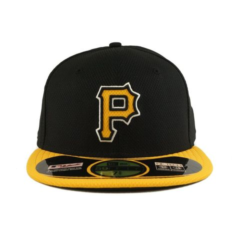 huge discount a7ec7 6fb59 Pittsburgh Pirates New Era Diamond Era 59Fifty Fitted Black   Yellow Hat   NewEraCapCo  PittsburghPirates