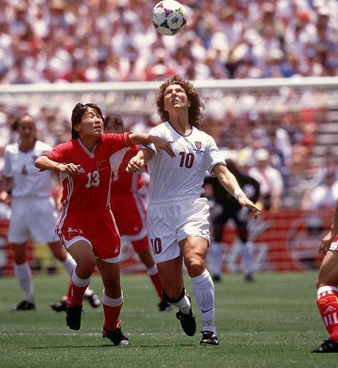 Michelle Akers 1996 Olympics Athens, GA Gold medal vs China