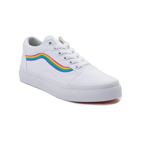 scarpe vans arcobaleno