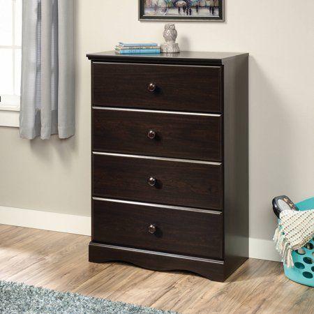 Sauder Storybook 4 Drawer Dresser Multiple Finishes Walmart Com Storage Furniture Bedroom 4 Drawer Dresser Wooden Dresser