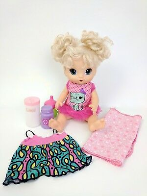 Baby Alive Super Snacks Snackin Noodles Baby Blonde W Accessories Video Below Baby Alive Barbie Gifts New Baby Products