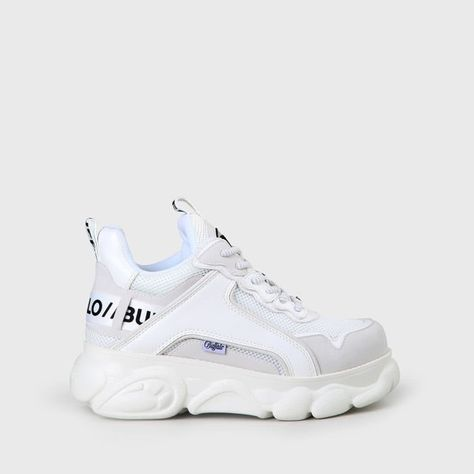 cld corin sneaker leather effect white