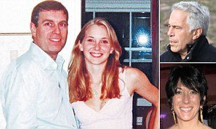 Prince Andrew and the under-age 'sex slave'