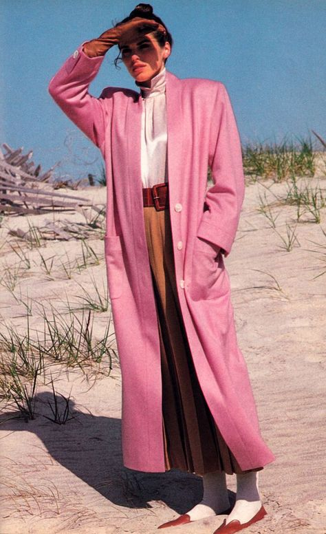 Lamont O'Neal for Vogue Patterns magazine, September/October 1986. Pattern design by Perry Ellis.