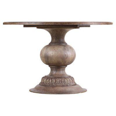 Laurel Foundry Modern Farmhouse Hoyt Mango Solid Wood Dining Table