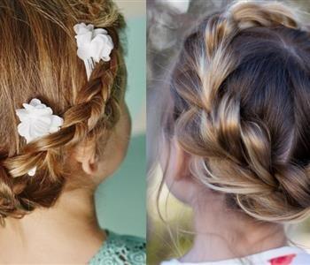 تسريحات شعر اطفال لإطلالة رقيقة ومبهرة Fashion Band