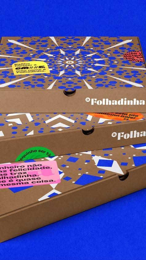 a Folhadinha restaurant brand identity design by ADD Branding