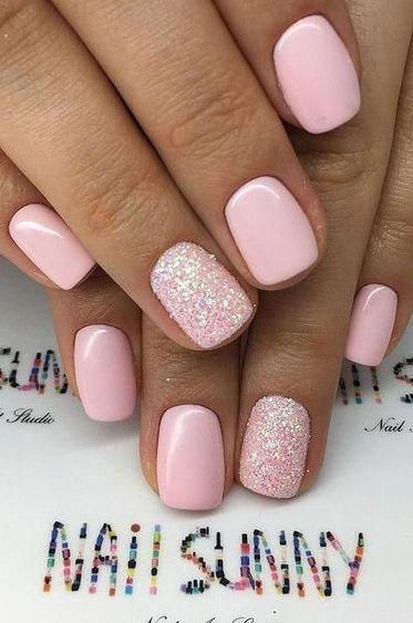 30 Newest Short Nails Art Designs To Try In 2020 Nails Nailideas Beauty Acrylicnail Naildesign Win In 2020 Stylish Nails Short Acrylic Nails Pretty Acrylic Nails