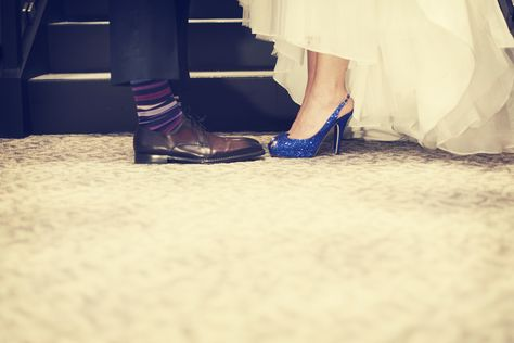 Love this! Photo by Roee. #WeddingPhotographersMN #WeddingShoes