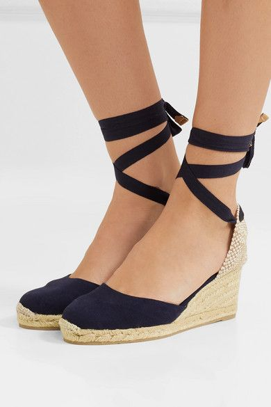 23e72aa8da8 Castañer - Carina 60 canvas wedge espadrilles in 2019 | Shoes ...