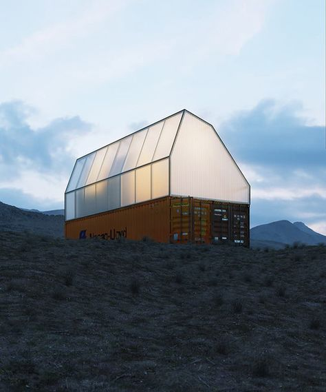 Gallery of TRS Studio Converts Shipping Container into Single Family Module   - 1