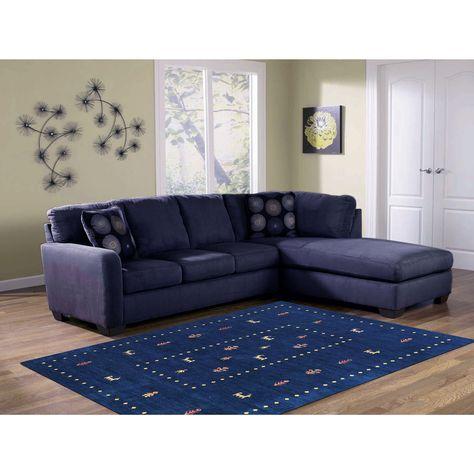 Cool Hand Woven San Ramon Navy Blue Green New Zealand Wool Rug 8 Gamerscity Chair Design For Home Gamerscityorg