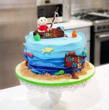 Enjoyable 22 Trendy Birthday Cake Kids Boys Fish Cake Birthday Birthday Funny Birthday Cards Online Overcheapnameinfo