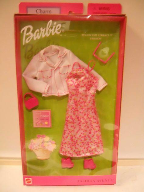 Barbie Beat Street Fashion Pink TShirt And Denim Skirt No.B3486 NRFB