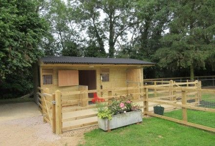 Timber Horse Stables For Sale Wooden Stable Block Broadfield
