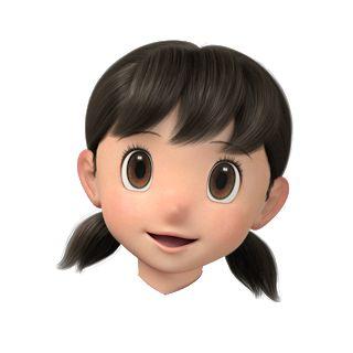 Download Kepala Nobita Cute Couple Wallpaper Nobita Face 3d Girl Cartoon Characters