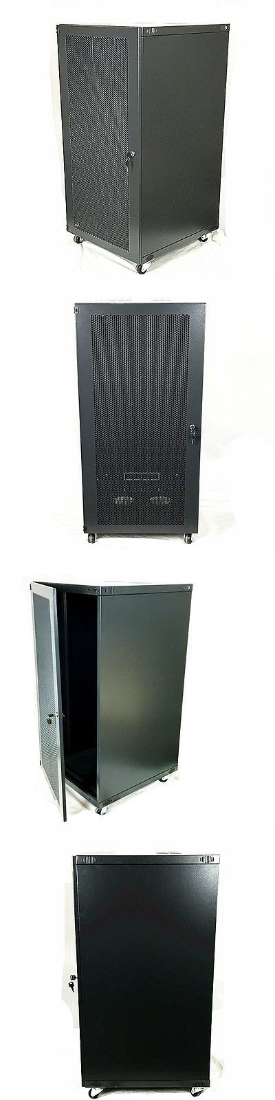 Rackmount Cabinets And Frames 51199 22u Wall Mount Network Server Cabinet Rack Enclosure Mesh Door Lock 600mm Deep Mesh Door Server Cabinet Wall Mount Rack