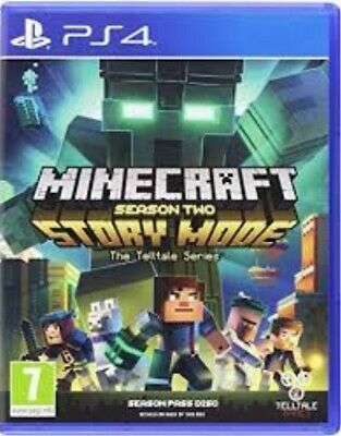 Minecraft Story Mode Season Two Playstation 4 Ps4 Game Case