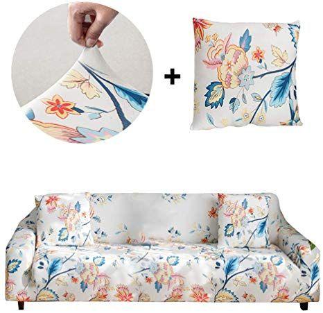 Amazon Com Bikuer Printed Sofa Cover Xl Xlarge Stretch Couch