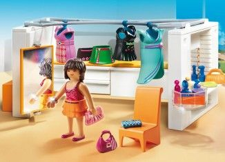 Playmobil 5576 Modern Dressing Room Detail Playmobil Modern Luxury Mansions Luxury