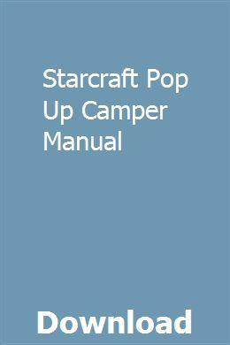 Starcraft Pop Up Camper Manual Chilton Repair Manual Repair