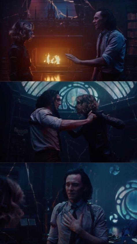 Loki vs Sylvie