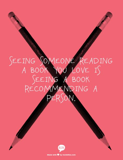 ... a book recommending a person.