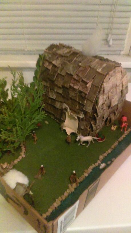 Longhouse Projects For Kids Google Search Social Studies