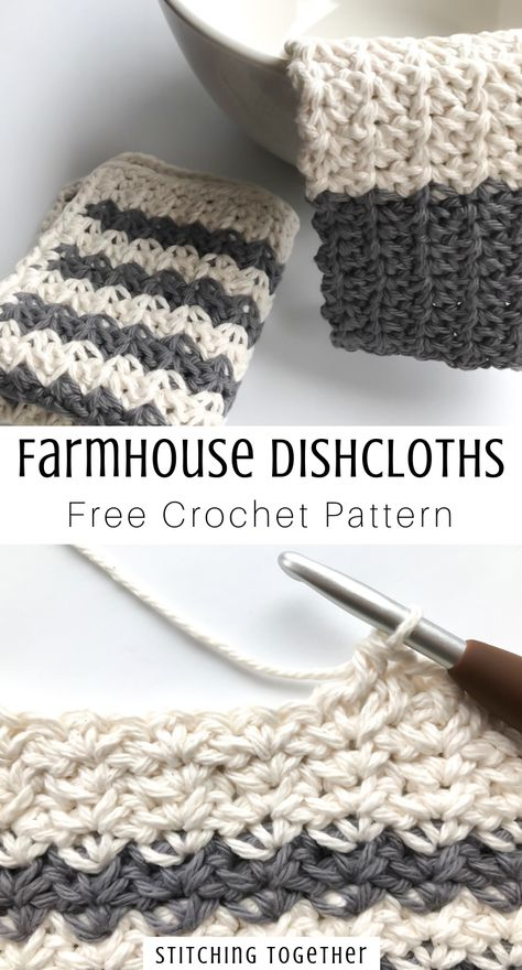 Country Crochet Dishcloth