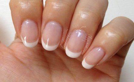 Super Wedding Nails Round French Manicures Ideas Super