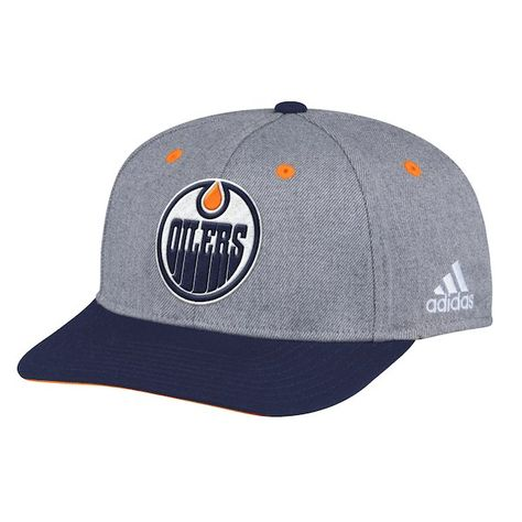 a00a6d41a1eba4 Men's Edmonton Oilers adidas Gray Two-Tone - Structured Adjustable Hat,  Your Price: $36.99 CAD