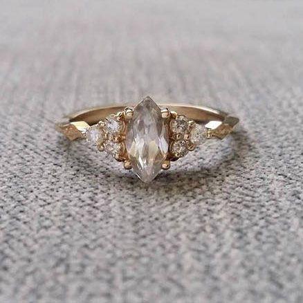 22 Vintage Rings To Make Your Heart Melt Weddingrings Engagementrings Victorian Engagement Rings Antique Engagement Rings Victorian Unique Engagement Rings