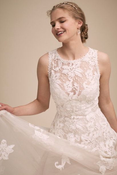 Ivory True Romantic Gown Bhldn Wedding Dresses Under 500