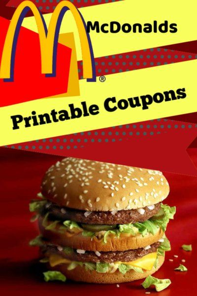Mcdonalds Food Coupons Enjoy The Savings Today With Mcdonalds Food Coupons Canada Fast Food Coupons Free Food Coupons Mcdonalds Coupons