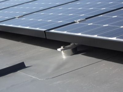 Fixing Solar Panels To Flat Roofs What We Recommend Solar Panels Solar Panels Roof Flat Roof