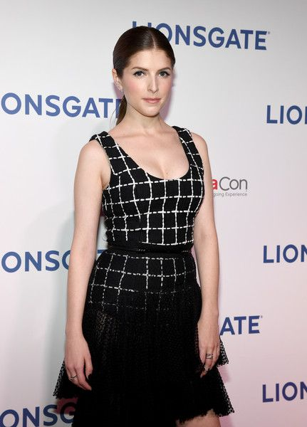 Actor Anna Kendrick attends CinemaCon 2018.