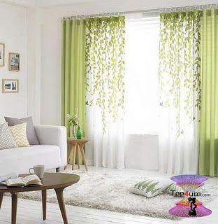اشكال ستائر مودرن شيك وجديدة بأحدث موضة الستائر للعرسان Modern Curtains 2020 Living Room Green Living Room Decor Curtains Pretty Living Room