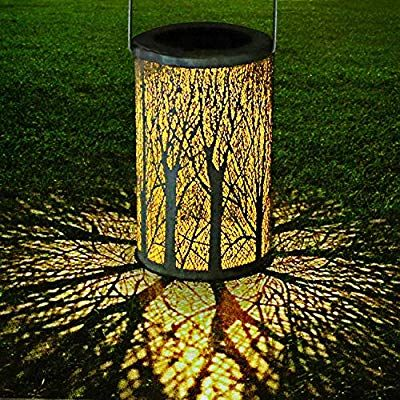 Philonext Solar Lantern Lights Outdoor Hanging Lantern Lights Lamp For Patio Ip44 Waterproof Garden L Solar Lights Garden Solar Lantern Lights Tree Lanterns