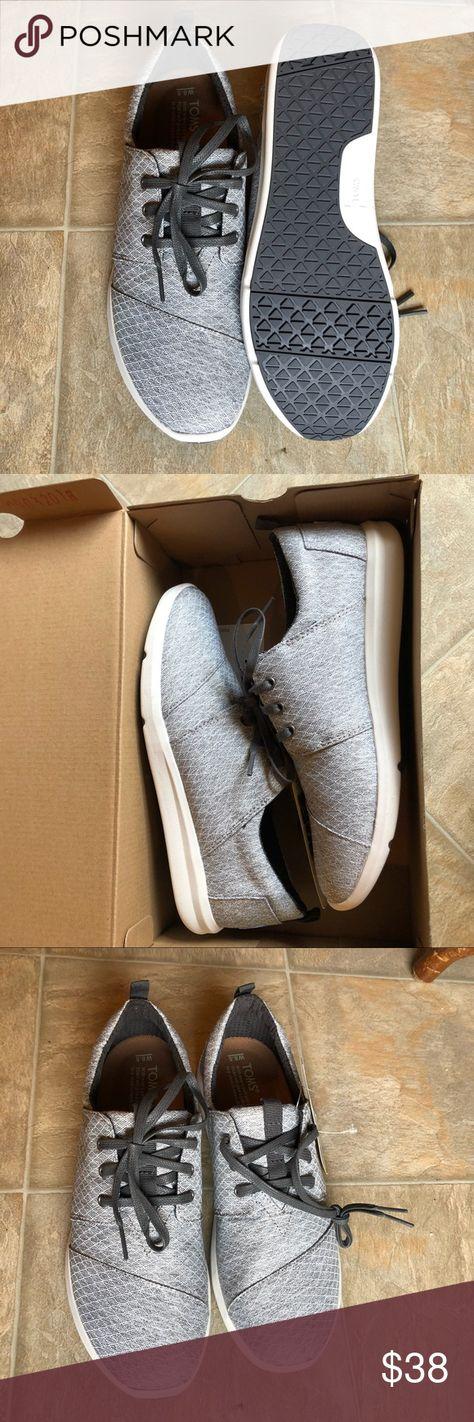 fd03c994b34 Toms Del Rey NWT Toms Del Rey Sneaker in Gray Diamond Melange. Size 8.5.