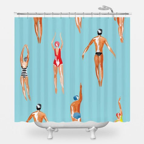 With Endless Design Options The Wnl Shower Curtain Pulls Double Duty It S Practical Yet Stylish And Brings A Bit Of Je Ne Sais Quoi To Your B Shower Curtain