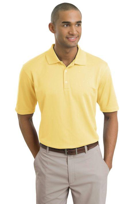 Nike Golf - Dri-FIT Textured Polo.  244620 Cornsilk / 2XL