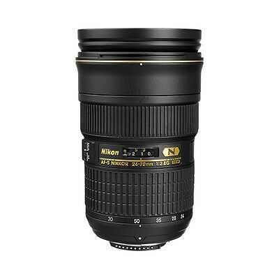 Nikon 24 70mm F 2 8g Ed Af S Nikkor Wide Angle Zoom Lens Zoom Lens Nikon Lens