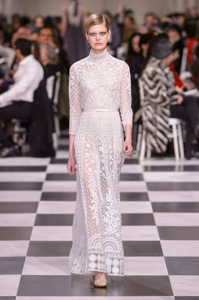 Christian Dior Couture Spring 2018 - Wedding-Worthy Couture Dresses for Spring 2018 - Photos