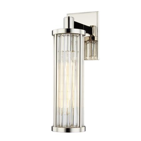 Hudson Valley Lighting 9121 Pn Polished Nickel Marley Single Light 14 Tall Wall Sconce In 2020 Polished Nickel Wall Sconce Hudson Valley Lighting Sconces