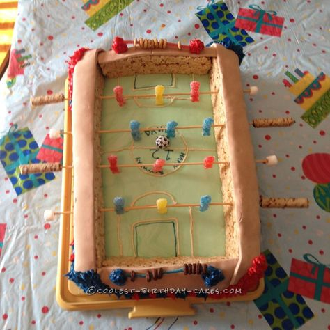 Coolest Ever Foosball Cake... Coolest Birthday Cake Ideas